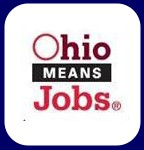 Ohio Means Jobs Clickable Button.